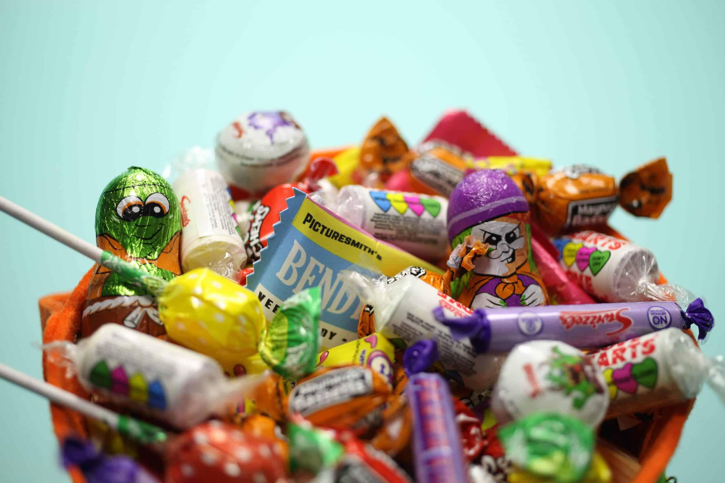 Bag of Halloween sweets
