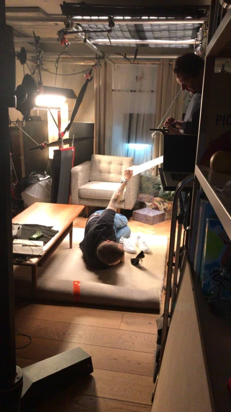 Matchesfahion Heinz the scenes set up