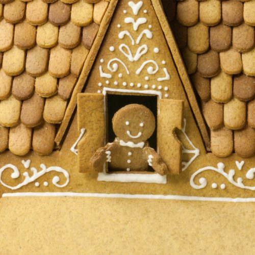 Christmasmith poster gingerbread house