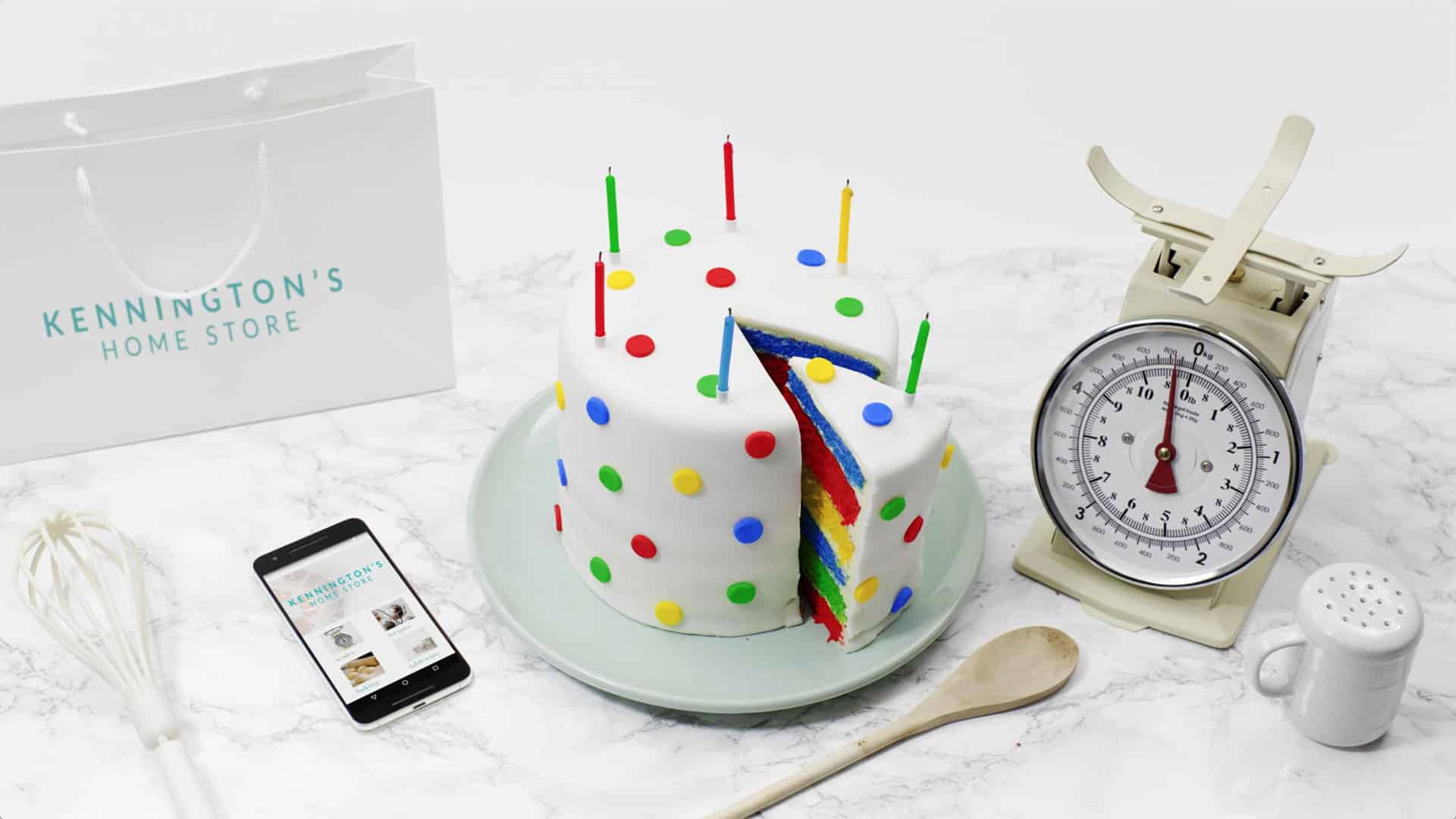 Google Magic cake slice