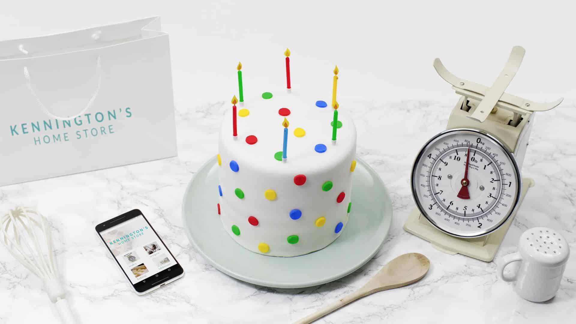 Google Magic cake scene