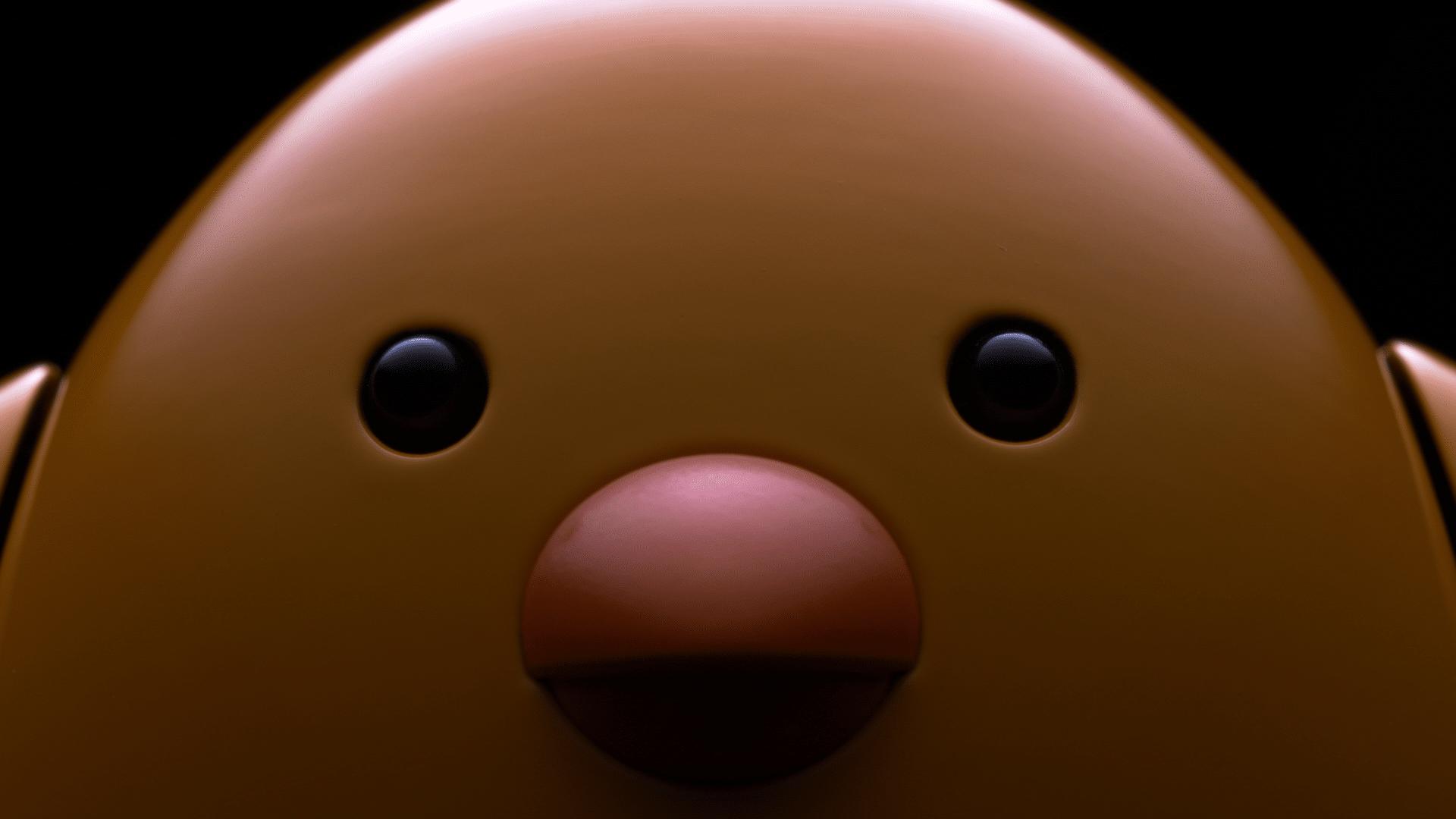 Robot chicken extreme close up