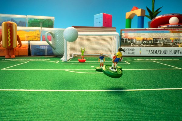 Women's World Cup behind the scenes animation