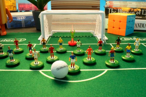 Women's World Cup stop motion set up