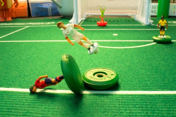 Women's World Cup behind the scenes stop motion