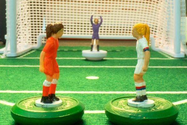 Women's World Cup stop motion animation