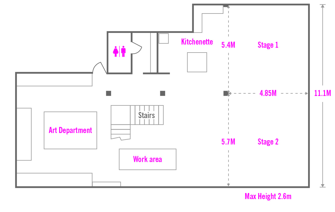 Picturesmith Studio plan