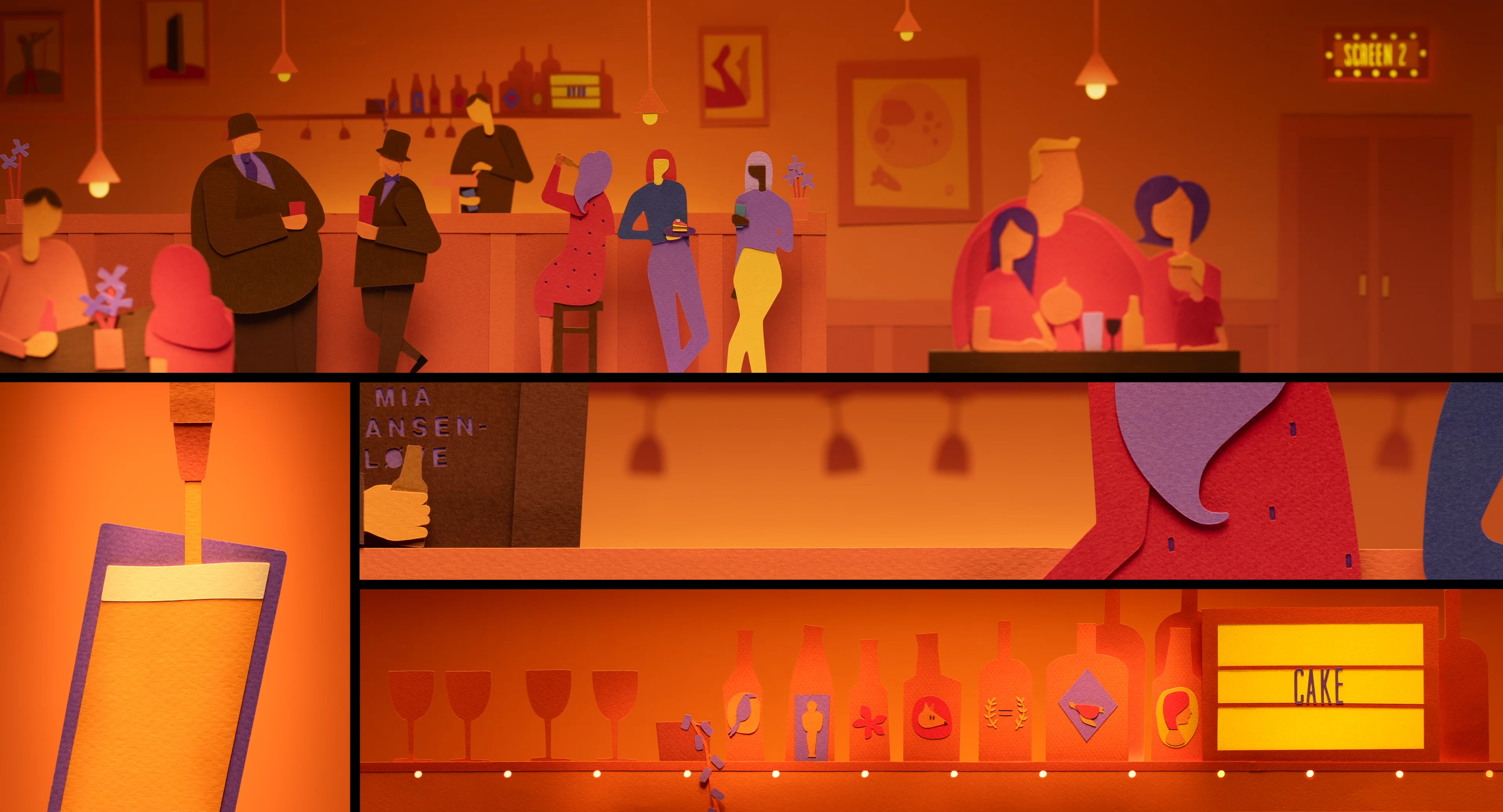 Picturehouse ident bar scene final